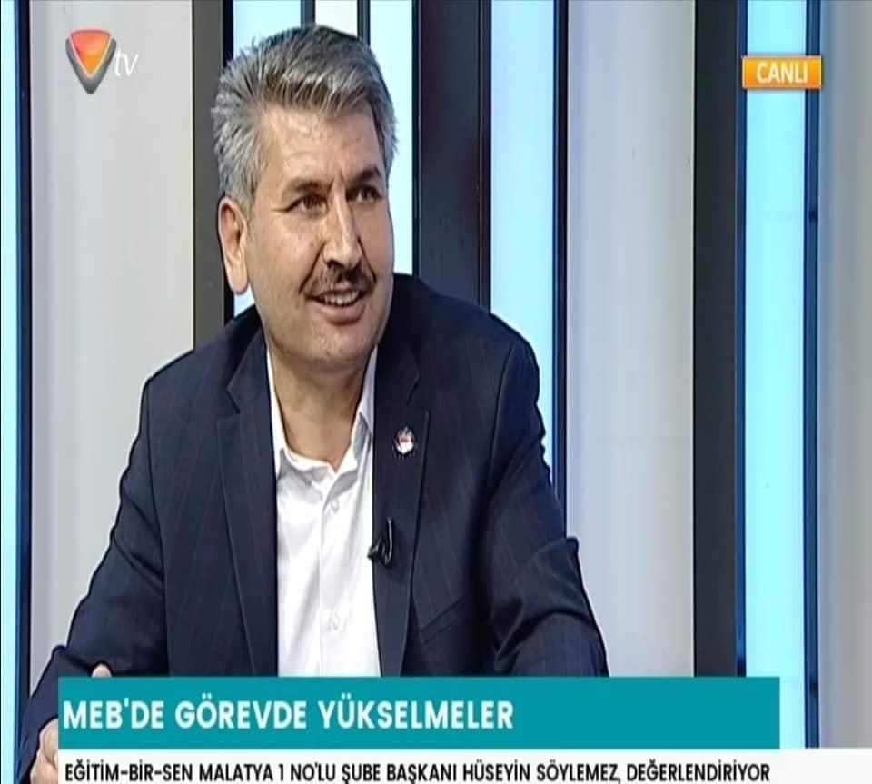 BAŞKAN SÖYLEMEZ'İN  VUSLAT TV KONUŞMASI